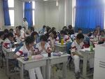 Blick in eine Ecke meines chinesischen Klassenzimmers