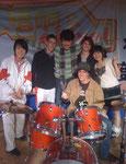 Nach der Singing competition: v.l.n.r. Zhao Jianting, Nik, Berik, ich, Song Yufei und vorne Andy