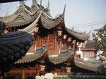 alter schöner chinesischer garten