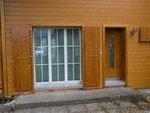 Fenster/Fensterfutter und Fensterläden in Tanne