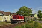 Einfahrt des 2. Bergstadtexpress 2017 mit 112 708-3 in den Bahnhof Berthelsdorf aus Brand-Erbisdorf kommend. Foto: Henry Mehnert