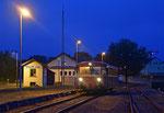 Am Abend des 24. Juni 2018 erreicht VT 796 625-0 den Abzweigbahnhof Berthelsdorf aus Richtung Brand-Erbisdorf kommend. Foto: Felix Bochmann