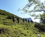 Vallée du Haut-Adour, en direction du Casque du Lhéris