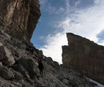 La Brèche de Roland 2804 m, versant espagnol