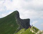 Arête des aiguilles Croches 2487 m
