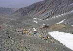 Camp de salto del Agua 4200 m