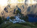 Inoubliables vues et reflets sur l'un des nombreux lacs du Néouvielle
