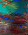 Spiegelung, 2018. Öl auf Leinwand, 100 x 80 cm