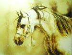 Ohne Titel, 2008. Acryl auf Leinwand, 100 x 79 cm