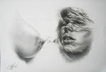 Maternity, 2008. Grafit auf Zeichenkarton, 44 x 27 cm