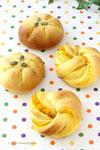 2016年10月*かぼちゃパン 3,500円