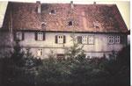 Wasserschloss Butzbach-Griedel 1986