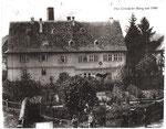Wasserschloss Bild von 1900