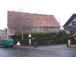 Wasserschloss im Kreis Wetterau in Griedel im Dezember 2005