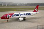 Airbus A320 Edelweiss HB-IHY