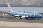 D-ATUI - Boeing 737-8K5 - TUI fly - Robinson Club livery @ LPA