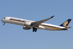 9V-SML - Airbus A350-941 - Singapore Airlines @ MXP