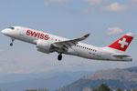 HB-JBD - Bombardier CS100 - Swiss @ FLR