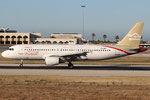 Airbus A320 Libyan Arab Airlines TS-INP