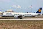 Airbus A321 Lufthansa D-AISQ