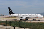B-6091 - Airbus A330-243 - Air China - Star Alliance livery