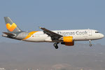 OO-TCW - Airbus A320-214 - Thomas Cook Airlines @ LPA