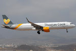 OY-TCD - Airbus A321-211 - Thomas Cook Airlines @ LPA