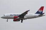YU-APA - Airbus A319-132 - AirSERBIA