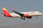 EC-LYM - Airbus A320-216 - Iberia Express @ LPA