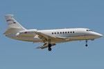 HB-IAU - Dassault Falcon 2000EX - CAT Aviation @ PSA