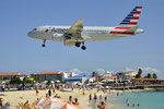 N716UW - Airbus A319-112 - American Airlines @ SXM