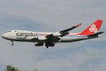 LX-OCV - Boeing 747-4R7(F) - Cargolux Italia