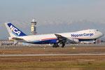 JA13KZ - Boeing 747-8KZ(F) - Nippon Cargo Airlines @ MXP