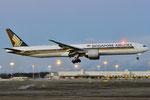 9V-SWE Boeing 777-312(ER) - Singapore Airlines
