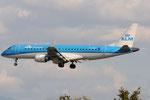 PH-EZE - Embraer ERJ-190STD - KLM @ FLR