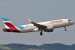 D-AEWU - Airbus A320-214 - Eurowings @ BLQ