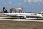Airbus A321 Lufthansa D-AISX