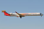 EC-LJS - Bombardier CRJ-1000 - Iberia - Aviacion sin fronteras sticker @ BLQ