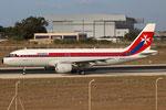 Airbus A320 Air Malta 9H-AEI Retro livery