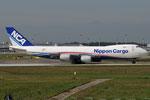 JA14KZ - Boeing 747-8KZ(F) - Nippon Cargo Airlines