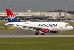 Airbus A319 Air Serbia YU-APB