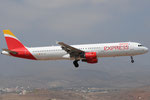 EC-JLI - Airbus A321-213 - Iberia Express @ LPA