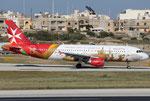 Airbus A320 Air Malta 9H-AEO Valetta Livery
