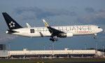 ET-ALO - Boeing 767-360(ER) - Ethiopian Airlines - Star Alliance livery