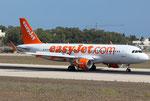 Airbus A320 Easyjet G-EZWU