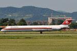 I-SMEN - McDonnell Douglas MD-83 - Meridiana @ BLQ