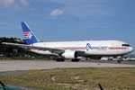 N741AX - Boeing 767-232(BDSF) - Amerijet International @ SXM