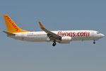 TC-CPV - Boeing 737-86J - Pegasus Airlines @ BLQ