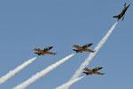 ES-YLI ES-YLF ES-YLX ES-TLF - Aero L-39 Albatros - Breitling Jet Team @ GRS