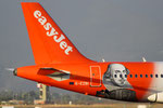Airbus A319 Easyjet G-EZBI William Shakespeare livery